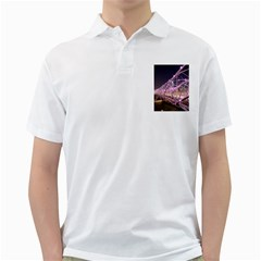 Helixbridge Bridge Lights Night Golf Shirts