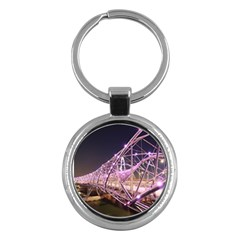 Helixbridge Bridge Lights Night Key Chains (round)