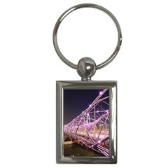 Helixbridge Bridge Lights Night Key Chains (rectangle)