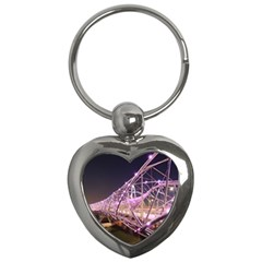 Helixbridge Bridge Lights Night Key Chains (Heart)