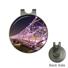 Helixbridge Bridge Lights Night Hat Clips With Golf Markers