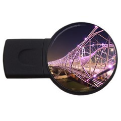 Helixbridge Bridge Lights Night Usb Flash Drive Round (4 Gb)