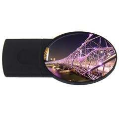 Helixbridge Bridge Lights Night Usb Flash Drive Oval (4 Gb)