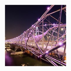 Helixbridge Bridge Lights Night Medium Glasses Cloth