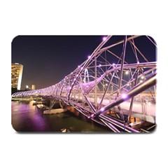 Helixbridge Bridge Lights Night Plate Mats