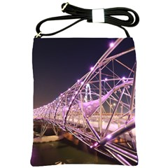 Helixbridge Bridge Lights Night Shoulder Sling Bags