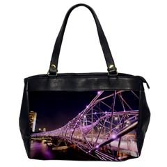Helixbridge Bridge Lights Night Office Handbags