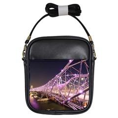 Helixbridge Bridge Lights Night Girls Sling Bags