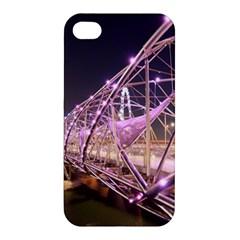 Helixbridge Bridge Lights Night Apple Iphone 4/4s Hardshell Case