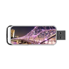 Helixbridge Bridge Lights Night Portable Usb Flash (two Sides)