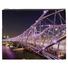 Helixbridge Bridge Lights Night Cosmetic Bag (xxxl)