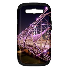 Helixbridge Bridge Lights Night Samsung Galaxy S Iii Hardshell Case (pc+silicone)