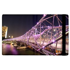 Helixbridge Bridge Lights Night Apple Ipad 2 Flip Case
