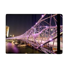 Helixbridge Bridge Lights Night Apple Ipad Mini Flip Case