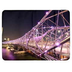 Helixbridge Bridge Lights Night Samsung Galaxy Tab 7  P1000 Flip Case