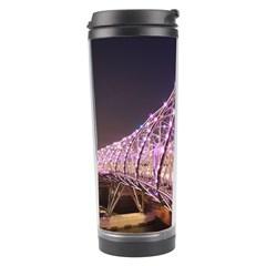 Helixbridge Bridge Lights Night Travel Tumbler