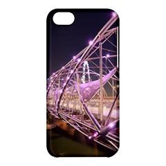 Helixbridge Bridge Lights Night Apple Iphone 5c Hardshell Case