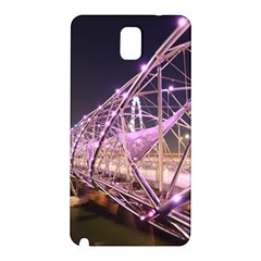 Helixbridge Bridge Lights Night Samsung Galaxy Note 3 N9005 Hardshell Back Case