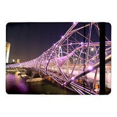 Helixbridge Bridge Lights Night Samsung Galaxy Tab Pro 10 1  Flip Case
