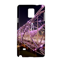 Helixbridge Bridge Lights Night Samsung Galaxy Note 4 Hardshell Case