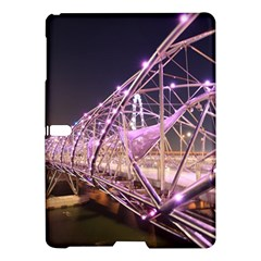 Helixbridge Bridge Lights Night Samsung Galaxy Tab S (10 5 ) Hardshell Case