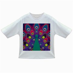 Peacock Bird Animal Feathers Infant/toddler T Shirts