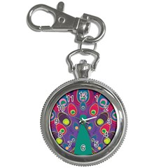 Peacock Bird Animal Feathers Key Chain Watches