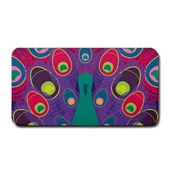 Peacock Bird Animal Feathers Medium Bar Mats