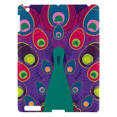 Peacock Bird Animal Feathers Apple Ipad 3/4 Hardshell Case