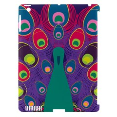 Peacock Bird Animal Feathers Apple Ipad 3/4 Hardshell Case (compatible With Smart Cover)