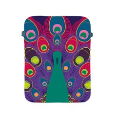 Peacock Bird Animal Feathers Apple Ipad 2/3/4 Protective Soft Cases