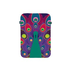 Peacock Bird Animal Feathers Apple iPad Mini Protective Soft Cases