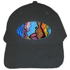 Graffiti Wall Color Artistic Black Cap