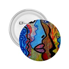 Graffiti Wall Color Artistic 2.25  Buttons
