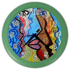 Graffiti Wall Color Artistic Color Wall Clocks