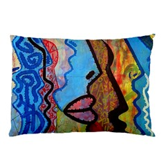 Graffiti Wall Color Artistic Pillow Case