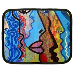 Graffiti Wall Color Artistic Netbook Case (xl)