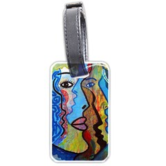 Graffiti Wall Color Artistic Luggage Tags (two Sides)
