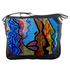 Graffiti Wall Color Artistic Messenger Bags