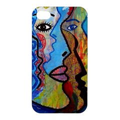 Graffiti Wall Color Artistic Apple Iphone 4/4s Premium Hardshell Case