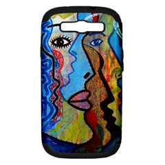 Graffiti Wall Color Artistic Samsung Galaxy S Iii Hardshell Case (pc+silicone)