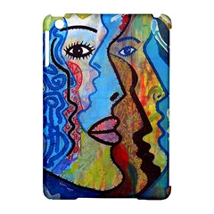 Graffiti Wall Color Artistic Apple Ipad Mini Hardshell Case (compatible With Smart Cover)