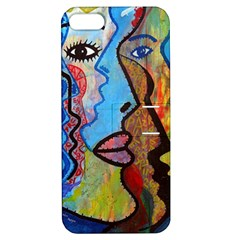 Graffiti Wall Color Artistic Apple Iphone 5 Hardshell Case With Stand