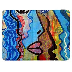 Graffiti Wall Color Artistic Samsung Galaxy Tab 7  P1000 Flip Case
