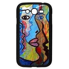 Graffiti Wall Color Artistic Samsung Galaxy Grand Duos I9082 Case (black)