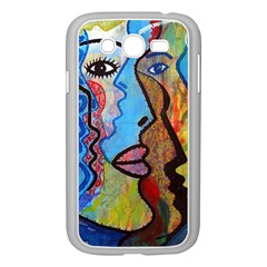 Graffiti Wall Color Artistic Samsung Galaxy Grand DUOS I9082 Case (White)