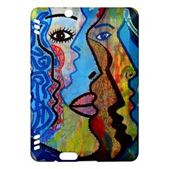 Graffiti Wall Color Artistic Kindle Fire Hdx Hardshell Case