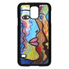 Graffiti Wall Color Artistic Samsung Galaxy S5 Case (black)