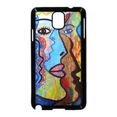 Graffiti Wall Color Artistic Samsung Galaxy Note 3 Neo Hardshell Case (black)
