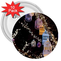 Qingdao Provence Lights Outdoors 3  Buttons (10 Pack)